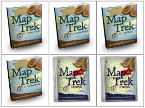 Map trek knowledge quest life with the tribe map trek complete collection covers history from ancient to modern includes us edition maps and atlas maps as well with the complete collection you will sciox Images